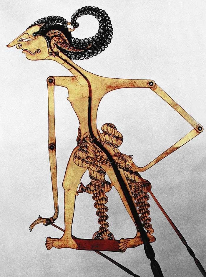 wisanggeni deskripsi rupa tokoh wisanggeni kreasi tatah sungging dalam    Wayang Wisanggeni